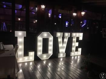 LOVE LOFT - Klasyczny napis na Twoje przyjecie, Dekoracje ślubne Miechów