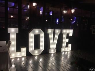 LOVE LOFT - Klasyczny napis na Twoje przyjecie,  Kraków