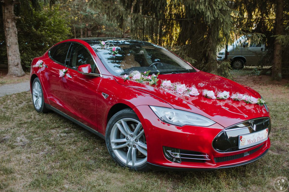 Tesla S do Ślubu 524 KM, wieczory kawalerskie, panieńskie, Fasty - zdjęcie 1
