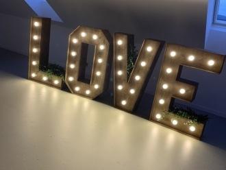 Napisy  Podświetlane LOVE ,  Wadowice