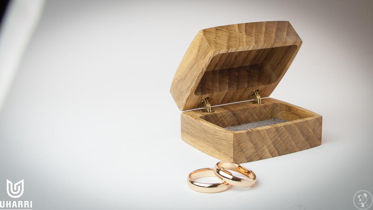 Pudełko na obrączki ślubne Uharri, Kraków - zdjęcie 1