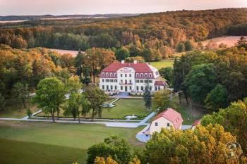 Pałac Radomiłów Rudna, Sale weselne Lubin