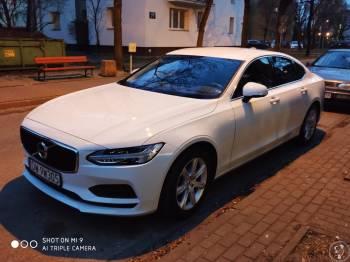 Volvo s90 białe czarne skóry, Samochód, auto do ślubu, limuzyna Pruszków