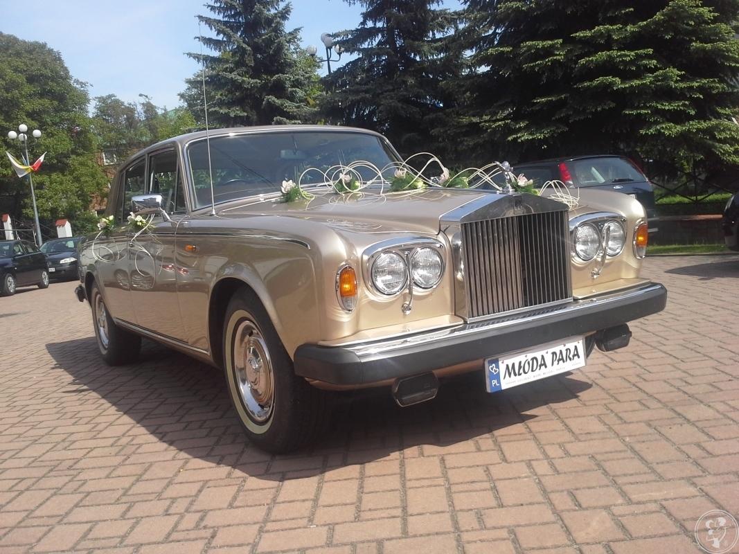 Zabytkowy Rolls-Royce auto retro do ślubu, Nowy Sącz - zdjęcie 1