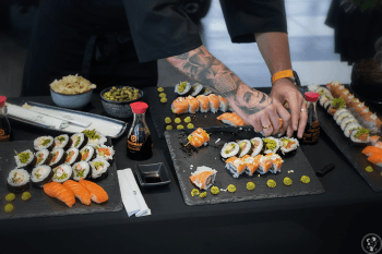 KIN SUSHI- Pokazy live sushi & catering, Unikatowe atrakcje Kraków