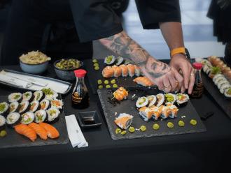 KIN SUSHI- Pokazy live sushi & catering,  Kraków