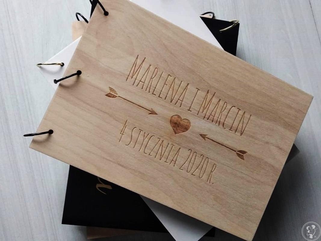 CARPENTRY SHOP | Drewniane księgi gości i dekoracje ślubne, weselne, Wałcz - zdjęcie 1