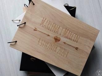 CARPENTRY SHOP | Drewniane księgi gości i dekoracje ślubne, weselne,  Wałcz