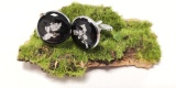 Spinki do mankietów z żywicy epoksydowej, Ozimek - zdjęcie 5