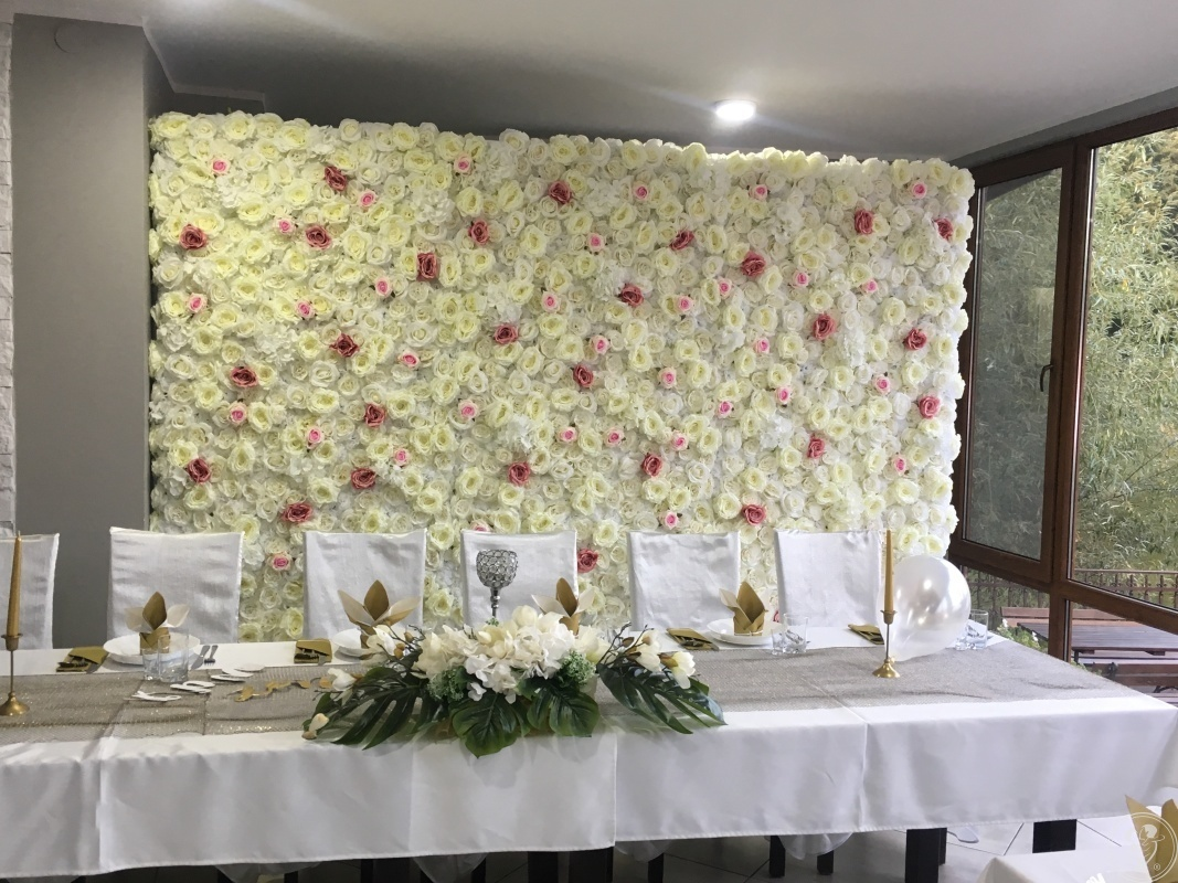 Ścianka kwiatowa, ścianka pikowana/glamour, koło zabawy, Radom - zdjęcie 1