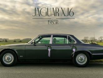 RettCar - zabytkowy Jaguar XJ6 1985 r.,  Wodzisław Śląski