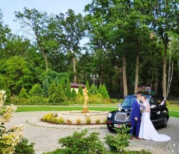 Angielską Taksówką do ślubu Stwórz Niezapomniane Wesele, Samochód, auto do ślubu, limuzyna Koniecpol