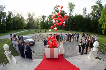 Fotobudka, napis led LOVE, ciężki dym pudło z balonami! Super jakość!, Dekoracje ślubne Mogilno