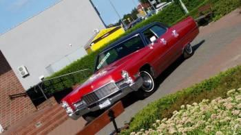 Cadillac DeVille 1968 rok, 6-cio osobowy na imprezy okolicznościowe, Samochód, auto do ślubu, limuzyna Nowy Staw