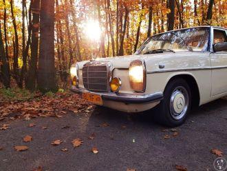 Zabytkowe auto do ślubu - Mercedes W115,  Bieruń