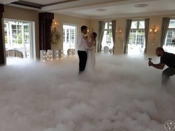 Profesjonalny Ciężki dym – taniec w chmurach oraz fontanna iskier, Ciężki dym Milanówek