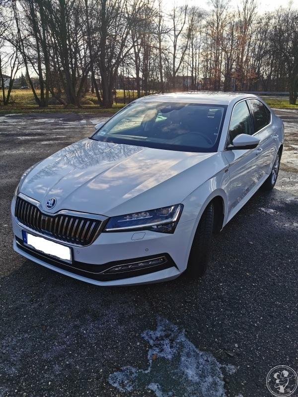 Auto na Wesele // Skoda Superb  2019 !!! Piekna i Bestia w Bieli !, Oświęcim - zdjęcie 1