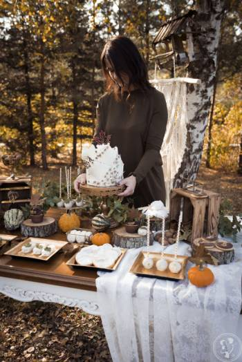 Pyszna Baba - torty weselne, słodki stół, candy bar, Słodki kącik na weselu Drobin