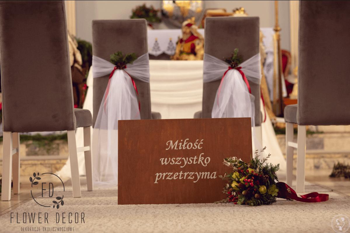 FLOWER DECOR Dekoracje ślubne, Radomsko - zdjęcie 1