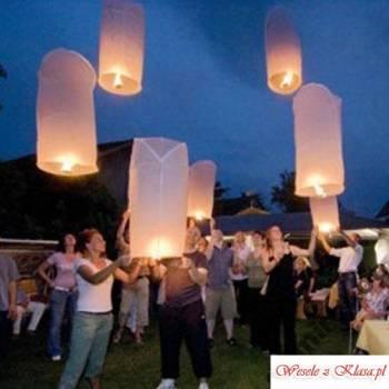 Latające Lampiony - Latarnie nieba, Balony, bańki mydlane Kuźnia Raciborska