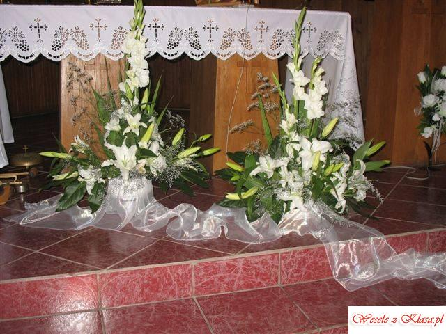 kwiaciarnia: dekoracja sal, kościołów, bukiety , Kąty Wrocławskie - zdjęcie 1