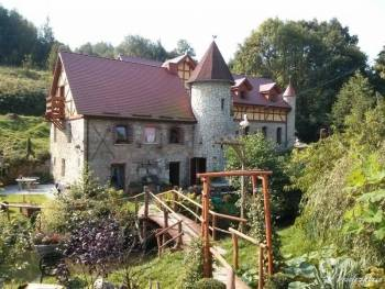 Sala weselna Zamek Zbójna Debra, Sale weselne Lubomierz