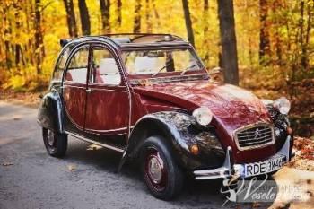 Samochód, auto na ślub! Citroen 2cv! retro, Samochód, auto do ślubu, limuzyna Nowa Sarzyna