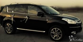 Citroen C-Crosser czarny elegancki suv., Samochód, auto do ślubu, limuzyna Rajgród