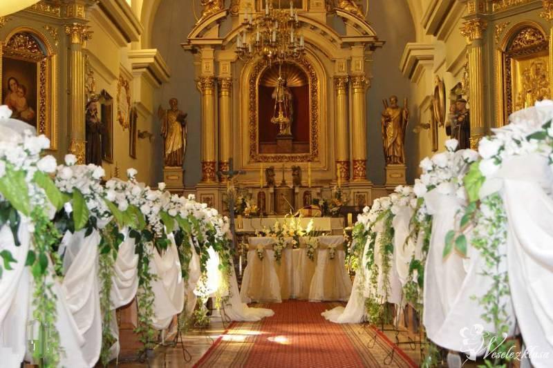 Dekoracje ślubne kościołów, Dębica - zdjęcie 1