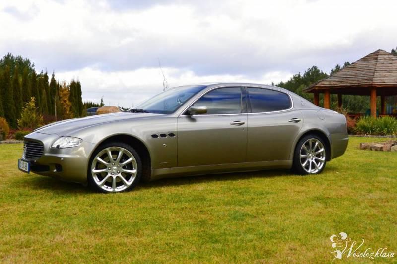 Maserati Quattroporte do Ślubu Piękne Rude skór, Radom - zdjęcie 1