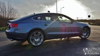 Sprortowa limuzyna Audi A5 sportback, Samochód, auto do ślubu, limuzyna Świdwin