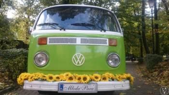 VW ogórek T2 - Glutek, Samochód, auto do ślubu, limuzyna Świerzawa