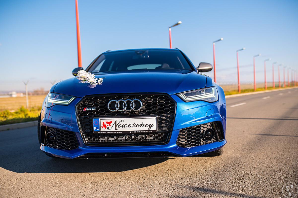 Luksusowy samochód auto do ślubu Audi RS6 Performance, Krosno - zdjęcie 1