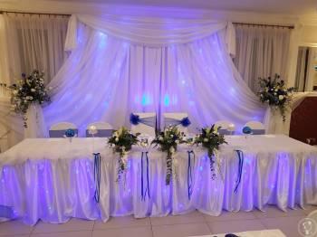 SACADA Studio-Dekoracje weselne,kwiaty,balony,fotobudka,napis LOVE, Dekoracje ślubne Szczyrk