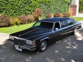 Limuzyna Cadillac DeVille '84 - szyk i elegancja, Samochód, auto do ślubu, limuzyna Ryglice