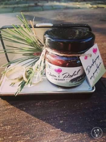Spiżarnia pod lasem - słodki upominek dla gości, Prezenty ślubne Siedlce
