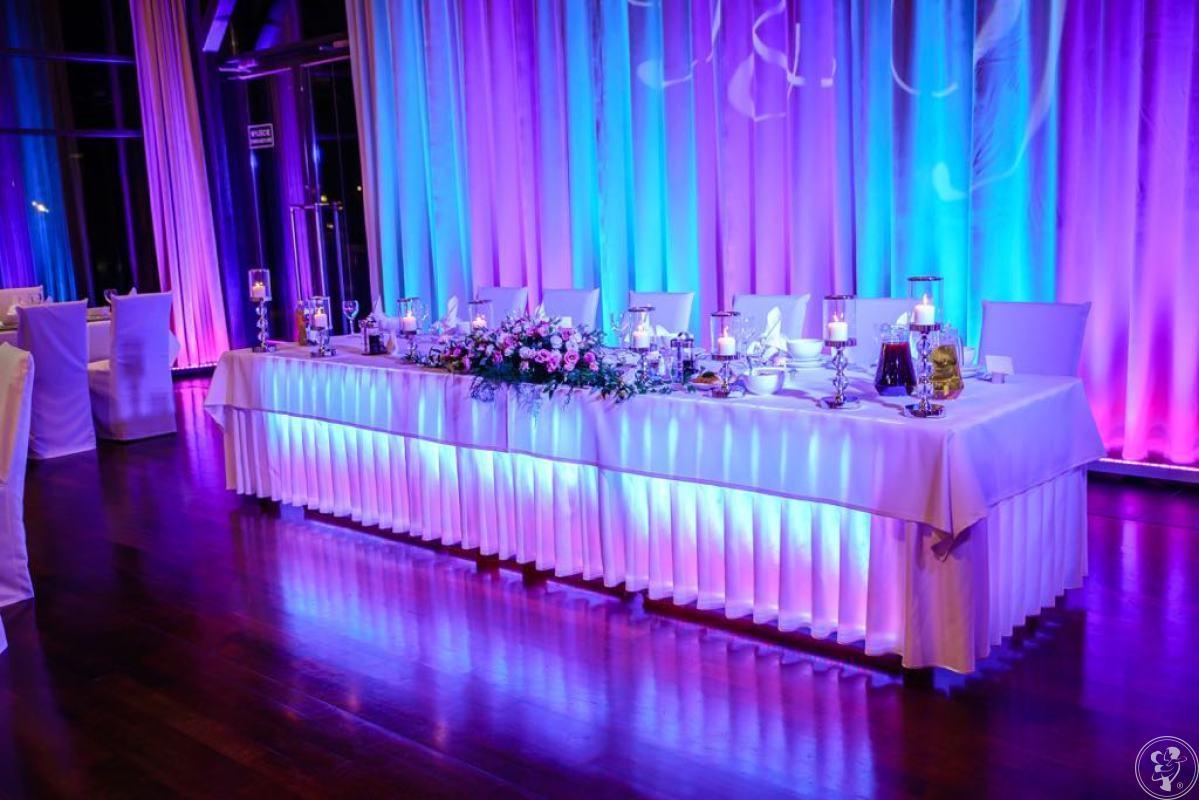 SIM-NET Sound&lights; Profesjonalne dekoracje sal światłem,napis LOVE, Iława - zdjęcie 1