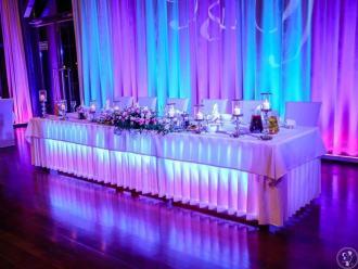 SIM-NET Sound&lights; Profesjonalne dekoracje sal światłem,napis LOVE,  Iława
