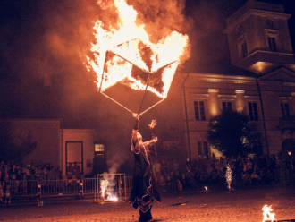 Profesjonalne oraz widowiskowe pokazy fireshow, Teatr ognia Krosno