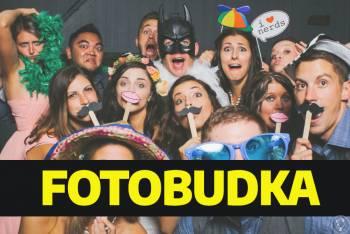 Fotobudka - wynajem na imprezę, wesele / napis love / polaroid / dym, Fotobudka, videobudka na wesele Mosina