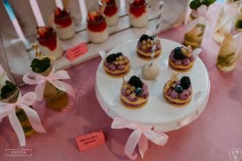 Pracownia Cukiernicza - PRZYTULNA - słodkie stoły i torty weselne, Słodki kącik na weselu Opalenica