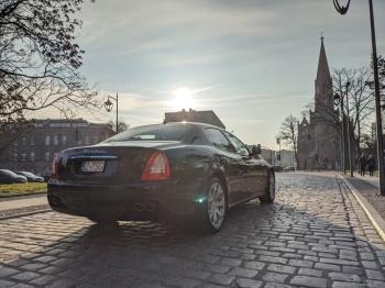 Wyjątkowe auta do ślubu! Maserati, Jaguar, Mustang, Samochód, auto do ślubu, limuzyna Stargard