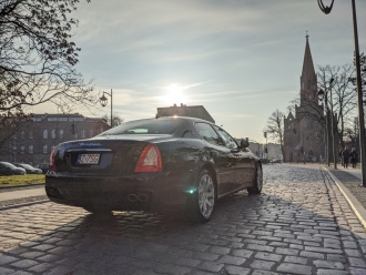 Wyjątkowe auta do ślubu! Maserati, Jaguar, Mustang,  Stargard
