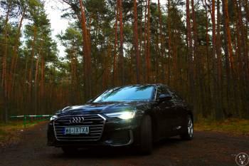 Audi A6 C8, model 2020, wersja Premium do ślubu, Samochód, auto do ślubu, limuzyna Narol