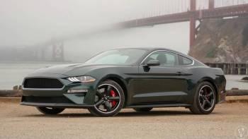 Mustang Bullitt V8 Manual - higland green, Samochód, auto do ślubu, limuzyna Żyrardów