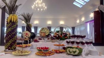 Magia Owoców - Carving, Słodki kącik na weselu Pilawa
