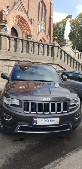 Auto do Ślubu Jeep Grand Cherokee, Samochód, auto do ślubu, limuzyna Sulejówek