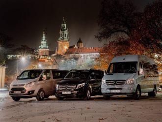 Legendary - przewóz osób busami,  Kraków