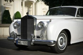 ROLLS-ROYCE 1959R *biała* perła, auto do ślubu, samochód na wesele,, Samochód, auto do ślubu, limuzyna Wyszków