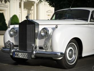 ROLLS-ROYCE 1959R *biała* perła, auto do ślubu, samochód na wesele,,  Warszawa